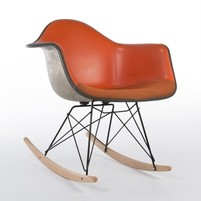 RAR rocking chair from the seventies by Charles & Ray Eames & Alexander Girard for Herman Miller