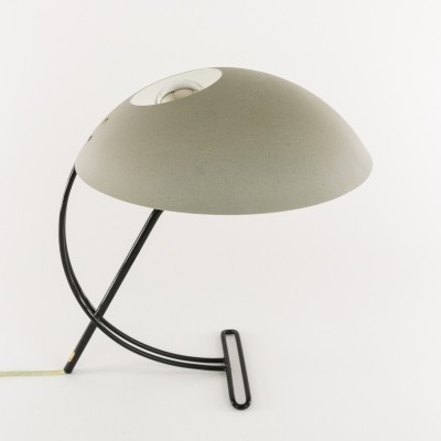 Grey table lamp NB 100 by Louis Kalff for Philips, 1950s