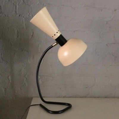 Diabolo desk lamp from the fifties by unknown designer for unknown producer