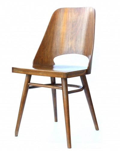 2 Model 514 dinner chairs from the sixties by unknown designer for Ton Czechoslovakia