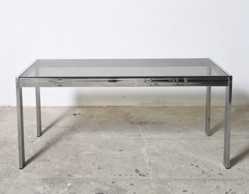 Mid-Century Modern Chrome Console Table by Belgo Chrome
