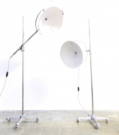 Set of 2 Studio floor lamps from the fifties by unknown designer for Narita