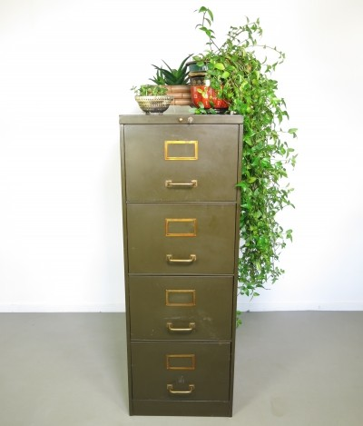 Chest of drawers from the forties by unknown designer for Roneo