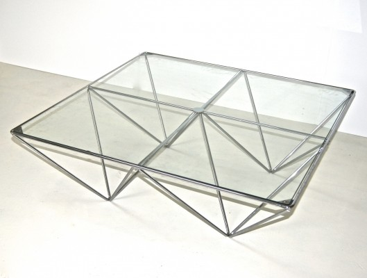 Alanda coffee table from the eighties by Paolo Piva for B & B Italia