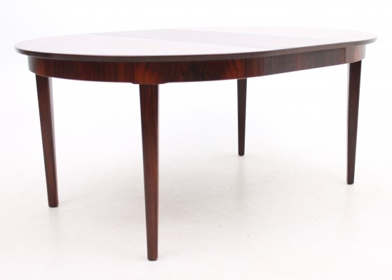 Extension dining table from the sixties by unknown designer for unknown producer
