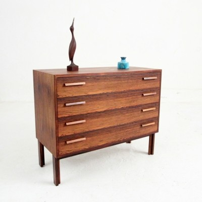 Chest of drawers from the fifties by Kai Kristiansen for Feldballes Møbelfabrik