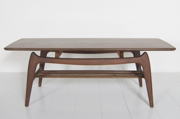 Coffee table from the fifties by Louis van Teeffelen for unknown producer