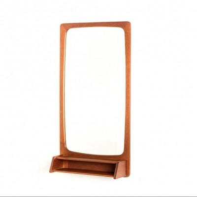 Mirror from the sixties by unknown designer for Pedersen & Hansen
