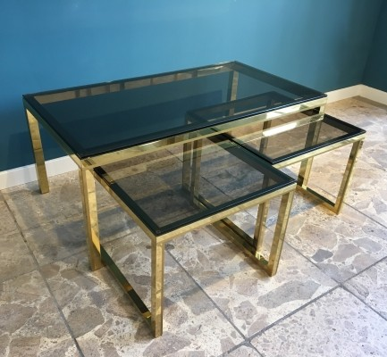 Vintage nesting table, 1970s