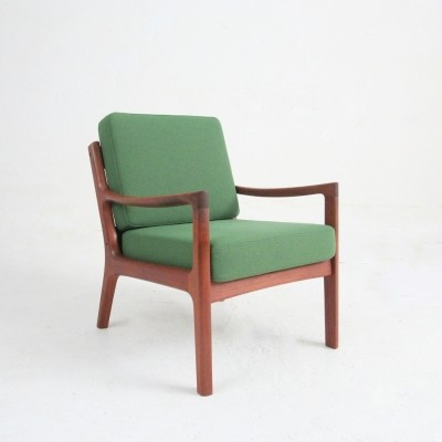 Model 169 lounge chair by Ole Wanscher for France & Son, 1950s
