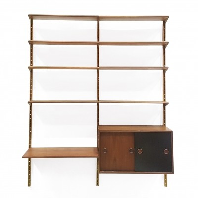Wall unit by Finn Juhl for Bovirke, 1950s