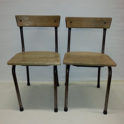 Chair children furniture from the fifties by unknown designer for Tubax