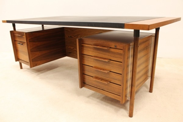 Writing desk by Sven Ivar Dysthe for Dokka Möbler, 1960s
