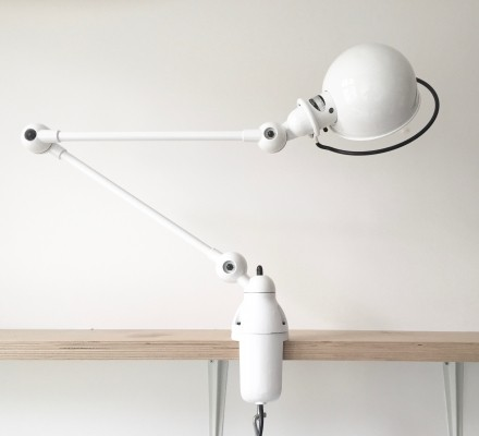 New Old Stock desk lamp by Jean Louis Domecq for Jieldé, 1980s