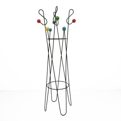 Clé de Sol coat rack from the fifties by Roger Feraud for unknown producer