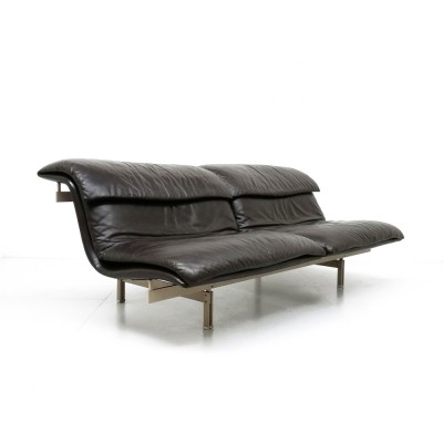 2 Wave sofas from the seventies by Giovanni Offredi for Saporiti