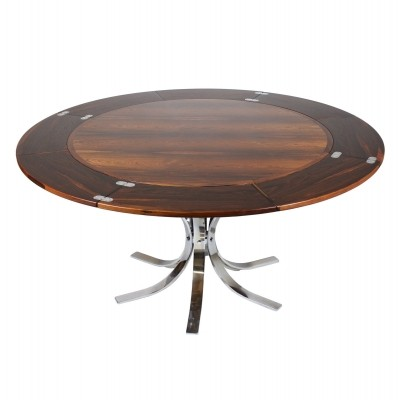 Dining table from the sixties by unknown designer for Dyrlund