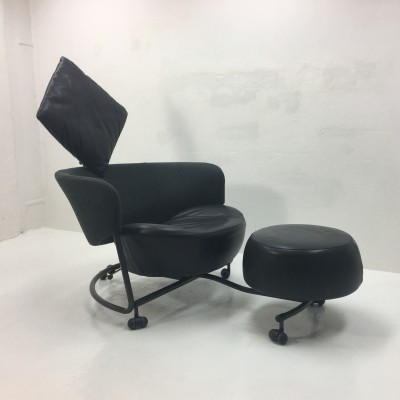 Girotonda lounge chair from the nineties by Francesco Binfare for Adele C