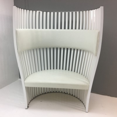 Southbeach lounge chair by Chrisophe Pillet for Tacchini Italy, 1990s