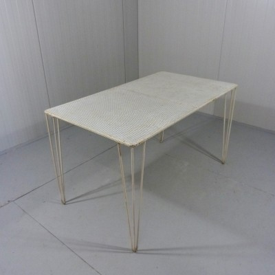 Steel Garden Table Perforated Table Top