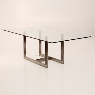 Sarei dining table from the seventies by Carlo Scarpa for Simon