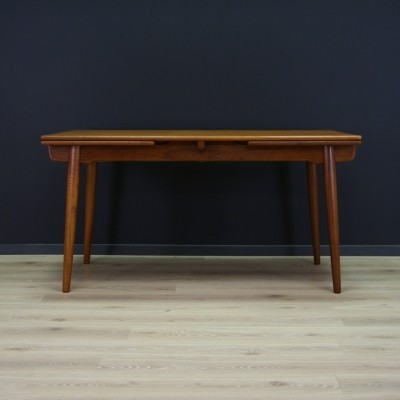AT-312 dining table from the sixties by Hans Wegner for Andreas Tuck