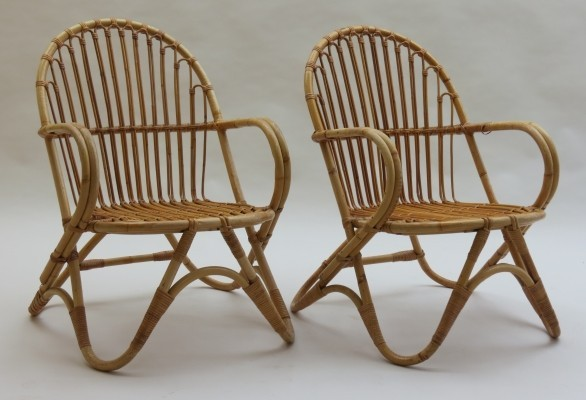 Set of 2 Invincible lounge chairs from the seventies by unknown designer for 3V