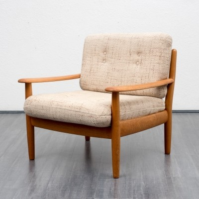 3 arm chairs from the sixties by Wilhelm Knoll for unknown producer