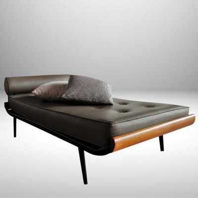 Cleopatra daybed from the fifties by Dick Cordemeijer for Auping