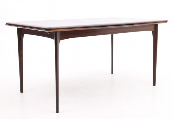 Extension dining table from the sixties by unknown designer for Oddense Maskinsnedkeri