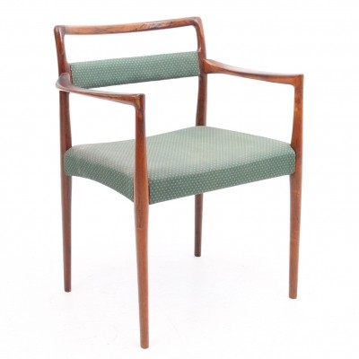 Arm chair from the sixties by unknown designer for Oddense Maskinsnedkeri