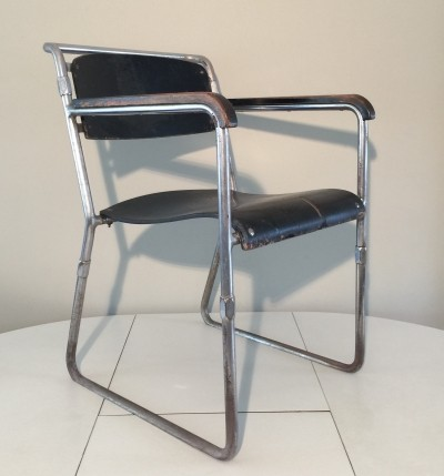 Hopmi dinner chair from the thirties by H. F. Mertens for Hopmi & UMS Pastoe