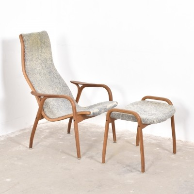 Lounge chair from the fifties by Yngve Ekström for Swedese