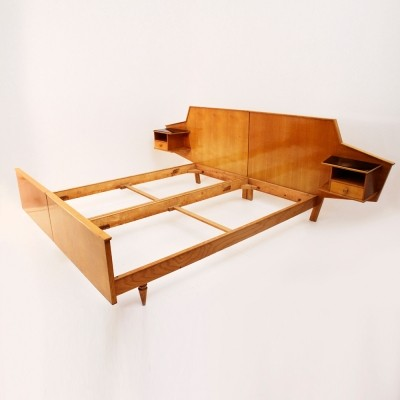 Bed from the fifties by unknown designer for unknown producer