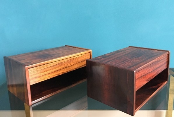 Set of 2 wall units from the sixties by unknown designer for unknown producer