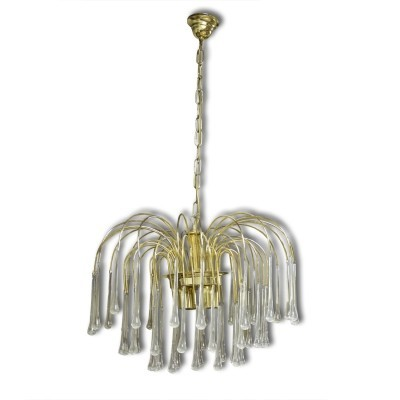 Hanging lamp from the seventies by Paolo Venini for Murano