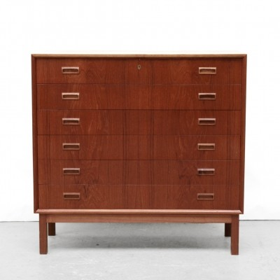 Danish chest of drawers from the sixties