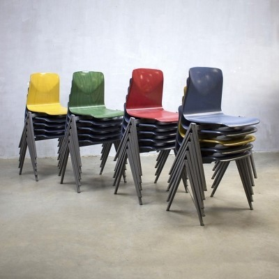 20 dinner chairs from the sixties by unknown designer for Galvanitas