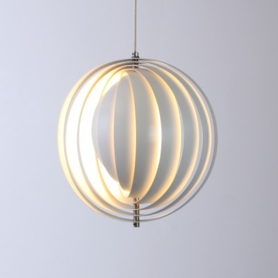 Moon hanging lamp from the sixties by Verner Panton for Louis Poulsen