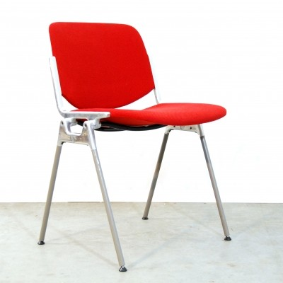 11 DSC Axis 106 dinner chairs from the seventies by Giancarlo Piretti for Castelli