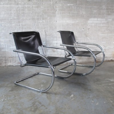 2 lounge chairs from the sixties by unknown designer for Arrben Italy