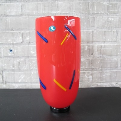 Vase from the eighties by unknown designer for Barovier & Toso