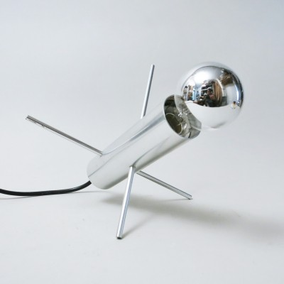 Cricket desk lamp from the sixties by Otto Wach for Raak Amsterdam