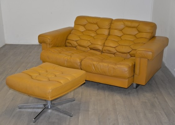 Ds-p sofa by De Sede Design Team for De Sede, 1970s