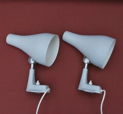 Set of 2 wall lamps from the fifties by unknown designer for unknown producer