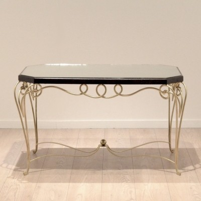 Coffee table from the thirties by René Drouet for unknown producer