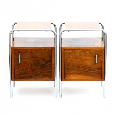 Set of 2 Type N6 side tables from the fifties by unknown designer for Kovona NP