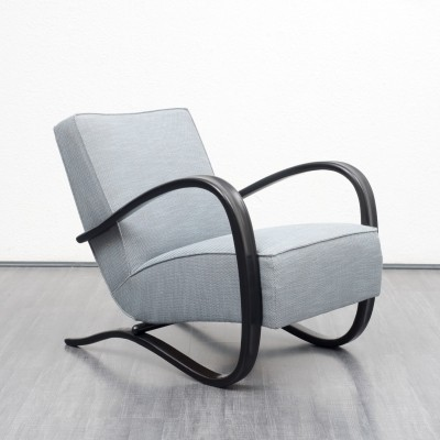 H269 arm chair from the thirties by Jindřich Halabala for unknown producer