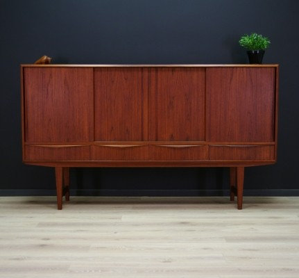 High sideboard by EW Bach for Sejling Skabe, 1960s