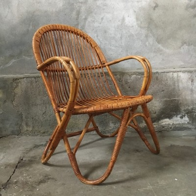 Lounge chair from the fifties by unknown designer for Rohé Noordwolde